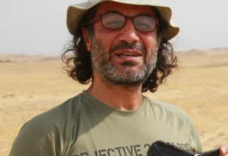 "zaradasht ahmed talks in this interview about the Iraq War and his film ""Nowhere to Hide"""